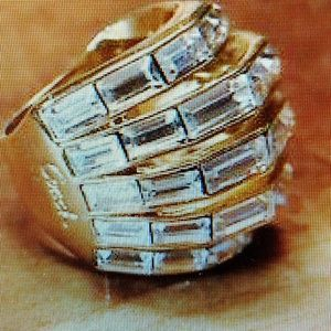 Coach Cocktail Fashion Ring